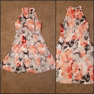 Floral Flair Dress